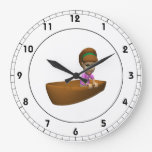 Navegante de la mujer relojes de pared