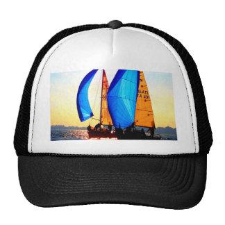 Navegue al mar de los velos del barco del regatta  gorros bordados