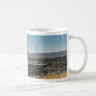 navegue la tierra taza de café