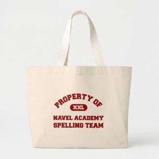 Navel Academy Spelling Team Red Tote Bags