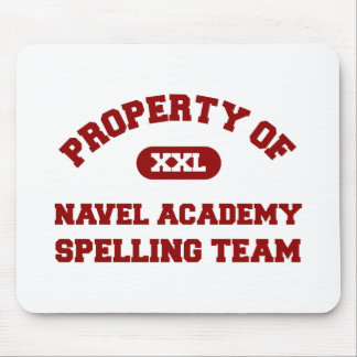 Navel Academy Spelling Team Red Mouse Pad