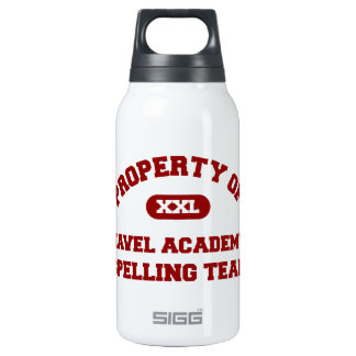 Navel Academy Spelling Team Red 10 Oz Insulated SIGG Thermos Water Bottle