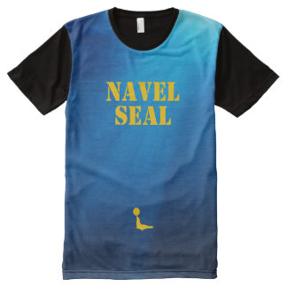 Navel Seal All-Over Print T-shirt