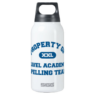 Navel Spelling Team Blue 10 Oz Insulated SIGG Thermos Water Bottle