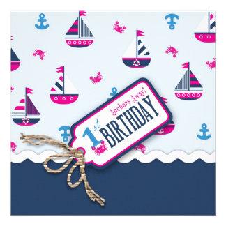¡Naves Ahoy! El cumpleaños del chica invita al cua Comunicados
