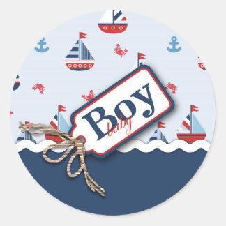 ¡Naves Ahoy Pegatina