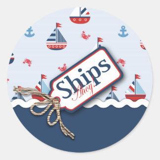 ¡Naves Ahoy Pegatina 2