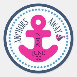 ¡Naves Ahoy! Pegatina D del chica