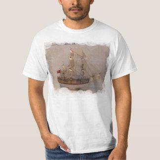 Naves de los exploradores, capitán James Cook Playera
