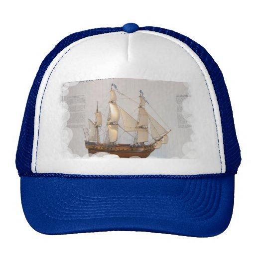 Naves de los exploradores del mundo, Louis Antoine Gorros Bordados