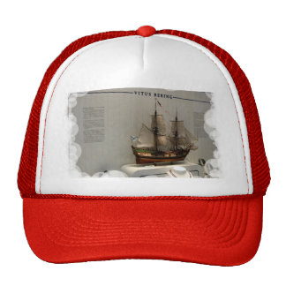 Naves de los exploradores del mundo, Vitus Bering Gorro