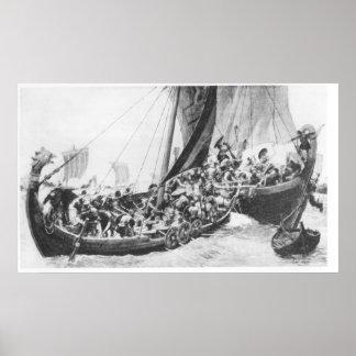 Naves de Viking Impresiones