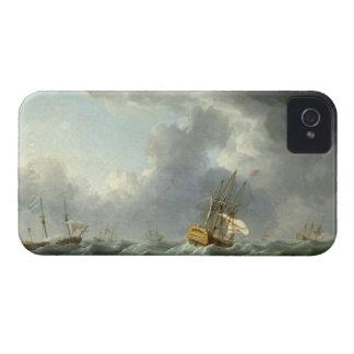 Naves del inglés que corren antes de un vendaval ( Case-Mate iPhone 4 cárcasa