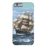 Naves del vintage de Sark del Cutty Funda De iPhone 6 Barely There