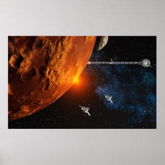 Naves espaciales poster