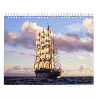 Naves y velas calendario