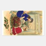 Navidad 1904 del navidad de Figgy Rectangular Altavoz