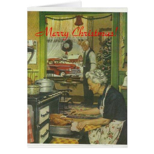 Navidad 1947 de Plymouth Tarjeton