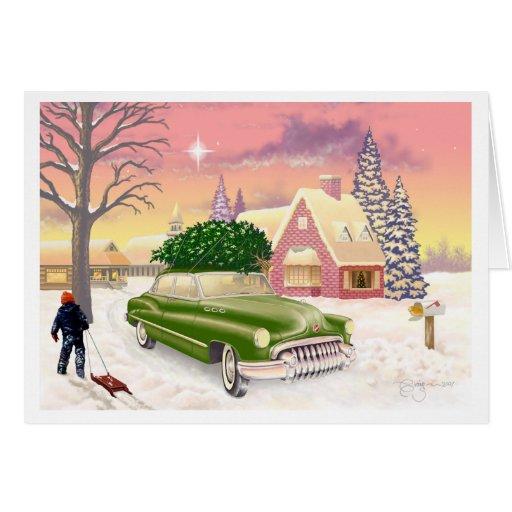 Navidad 1951 tarjetas