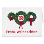 Navidad 2 de Austria Felicitacion