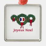 Navidad 2 de Francia Ornatos