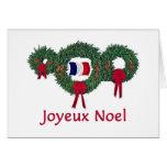 Navidad 2 de Francia Tarjetón