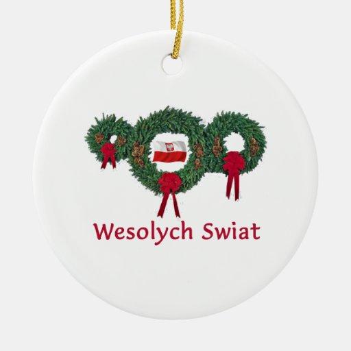 Navidad 2 de Polonia Ornamentos Para Reyes Magos
