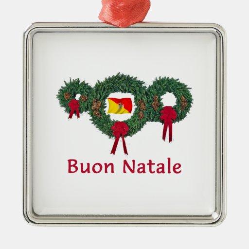 Navidad 2 de Sicilia Ornamento Para Reyes Magos