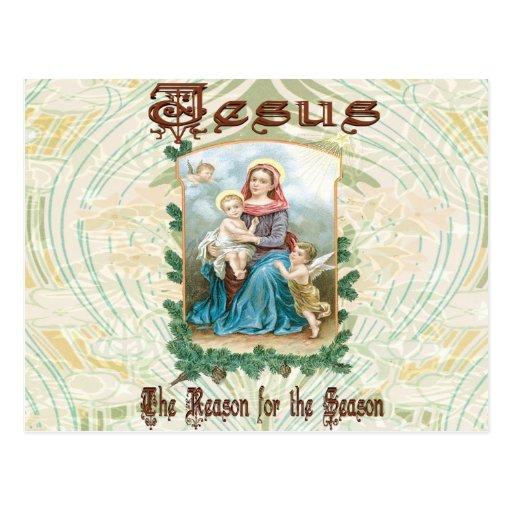 Navidad 2 - Jesús es la razón de la estación Tarjeta Postal