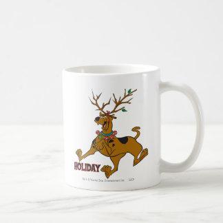 Navidad 31 de Scooby Taza Básica Blanca