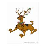 Navidad 32 de Scooby Tarjetas Postales