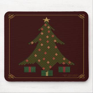 Navidad acolchado Mousepad Alfombrilla De Raton