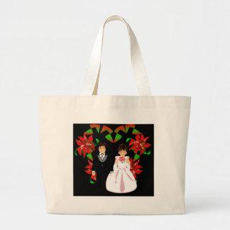 Navidad adaptable bolsa de mano
