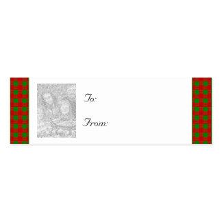 Navidad adaptable/etiqueta del regalo de la foto d tarjeta personal