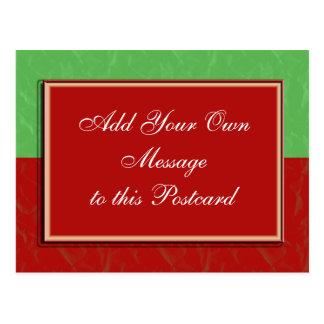 Navidad adaptable tarjetas postales
