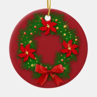 Navidad - Adorno Ceramic Ornament