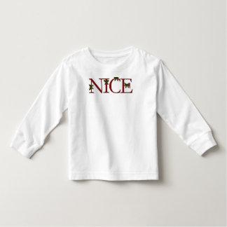 Navidad agradable tshirt