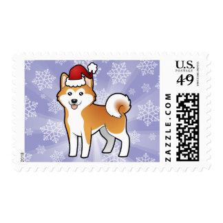 Navidad Akita Inu/Shiba Inu Envio