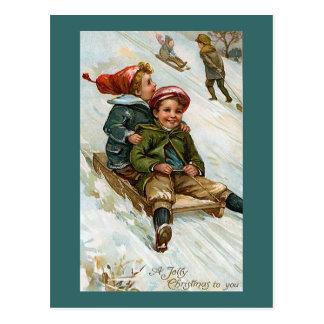 """Navidad alegre a usted "" Postales"