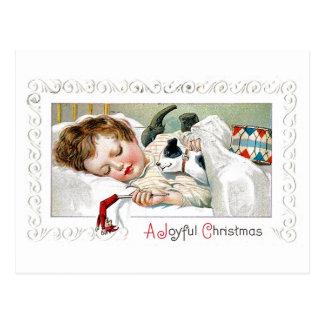 Navidad alegre postal