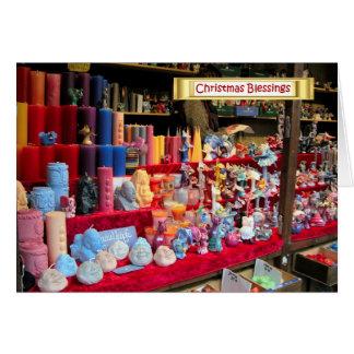 Navidad alemán, carenados de Heidelberg Tarjeta De Felicitación
