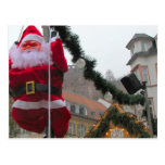 Navidad alemán, Heidelberg Santa Tarjetas Postales