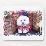 Navidad - algodón de Tulear - acogedor Tapetes De Raton