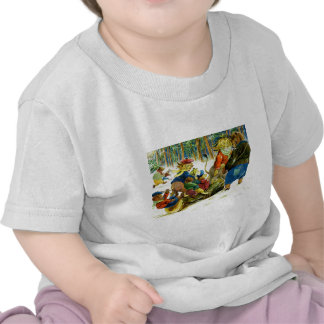 Navidad animal - conseguir el registro de Yule Camiseta