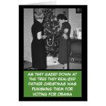 Navidad anti divertido de Obama Felicitaciones