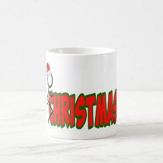 Navidad anti sutil taza