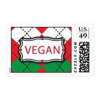 Navidad Argyle - vegano