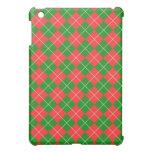 Navidad Argyle - verde, rojo y blanco
