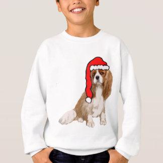 Navidad arrogante del perro de aguas de rey remera