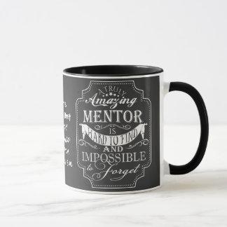 Navidad asombroso de la taza del regalo del mentor